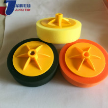 Plastic galvanized wire steel wool scourer pads/sponge scrubber cleaning with CE certificate
