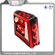 Cheap OEM Logo Tempered Glass Gaming Pc Case / Wholesale Custom Glass Computer Case Bulk