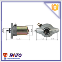 Scooter parts Motorcycle starter motor for gy6-50 scooter