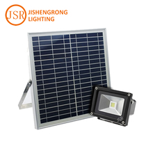 Automatic light control 10w Led solar flood light with 10v 15w solar panel for garden Yard