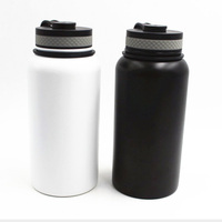 40oz 1182ml Top Selling BPA FREE Leak Proof Stainless Steel Drink Coffee Thermos Vacuum Flask Beer Bottle With Sealed Cover