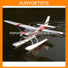 Hot! 93CM 6CH RC Plane EPO Cessna 182up Seaplane Electric/Good Trainer RTF, RC Seaplane