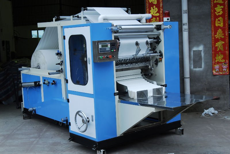 BOX Drawing Facial Tissue FOLDING Machine