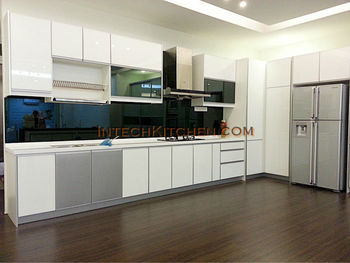 4g glass door with quartz top buy kitchen cabinet for Kitchen cabinets 4g