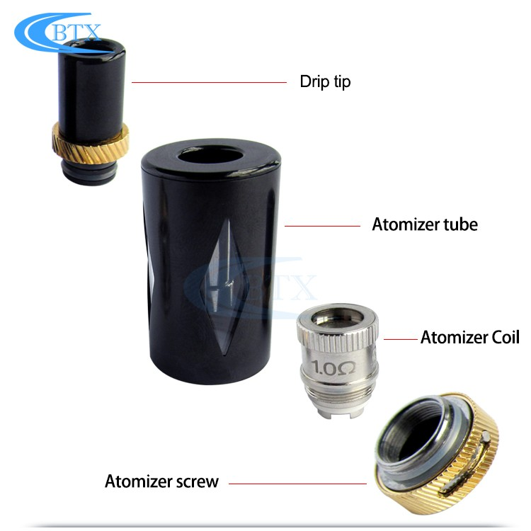 E Cigarette Box Mod Atomizer Type and Other Properties E CigTank