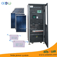 power generators for sale off grid 25KW solar system ac 220v , inverter for solar system