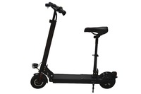 Mini foldable electric scooter 300w for lady 2 wheels with seat