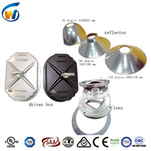 cool white color temperature(CCT) and IP44 IP rating high quality aluminum reflector of high bay light
