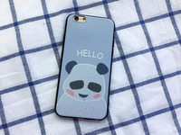 Shenzhen Newest Print Lovly Panda TPU Sillicone Soft Cover Mobile Phone case for apple iPhone 7 case