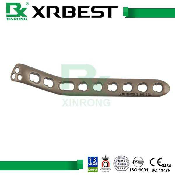 High Quality Orthopedic Titanium Bio Humeral Medial Locking Compression Plate of Surgical Instrument in XRBEST