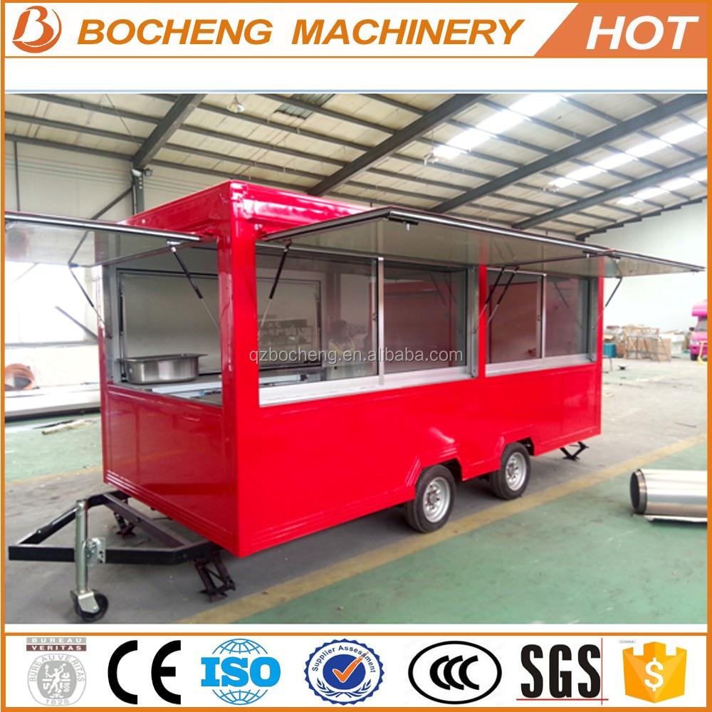 Food Warmer Truck Mobile Food Car For Sale Street Vending