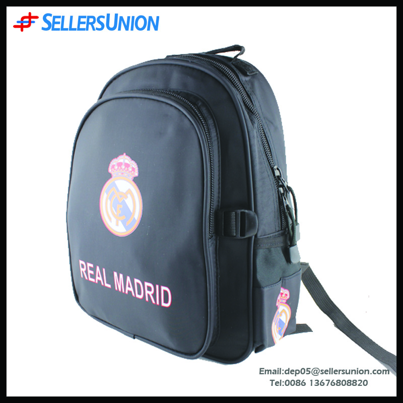 Brand backpack men's designer PU real madrid back packs pro sports bag with lining