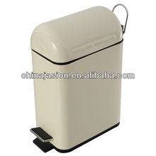 Pink Foot Pedal Trash Bin Office Waste bin Manufacturer