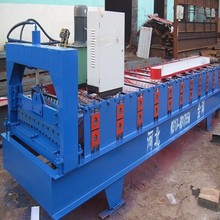 850 Corrugated iron roofing sheet making roll forming machine