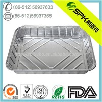 Kitchen Used Disposable Aluminium Foil Bake/Serve Tray