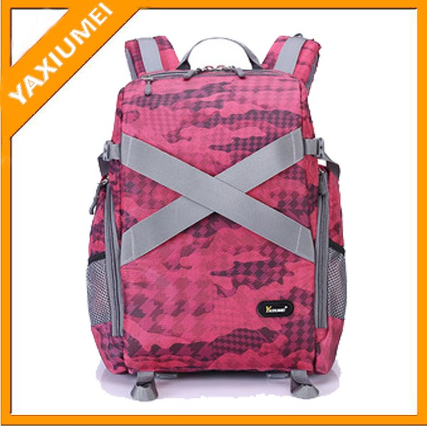 New style lightweight camera bag travel camera backpack for ladies