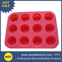Molded custom silicone rubber products