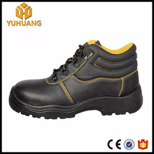 High quantity Embossed leather Industrial steel plate safety shoes