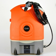 rechargeable portable pressure washer 17L water tank car wash, watering flowers, dog shower