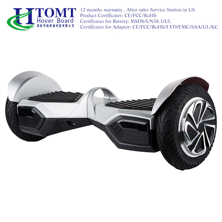"HTOMT Bluetooth wholesale electric smart balance china 2 wheel custom 8"" handle bar electric hoverboard with Samsung battery"