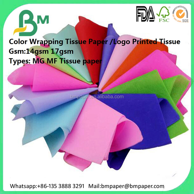 Cheap white MG recycled type wrapping thin tissue paper for shoes filling wrapping