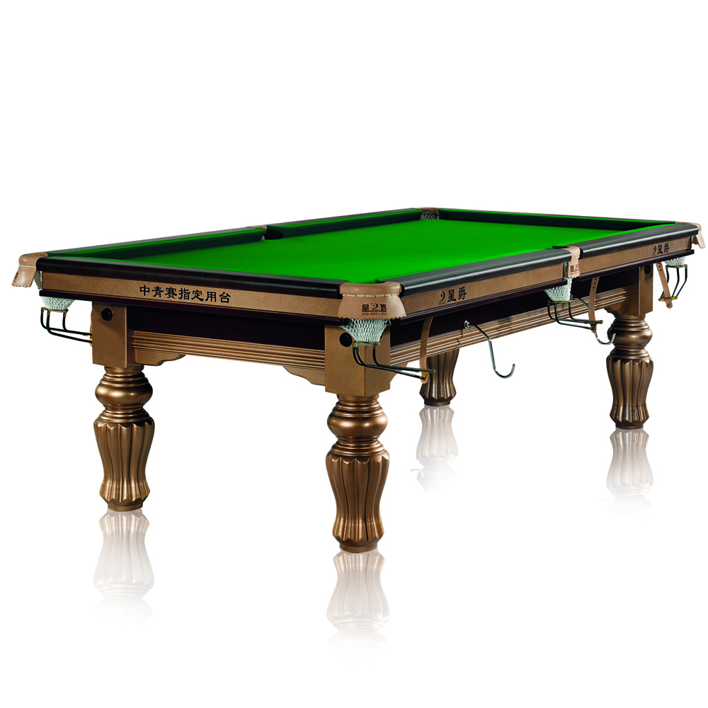 China Reseller Xingjue Billiards ODE China 6ft snooker table