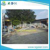 guangzhou ceiling lighting truss system for sale in TRUSS factory 2012