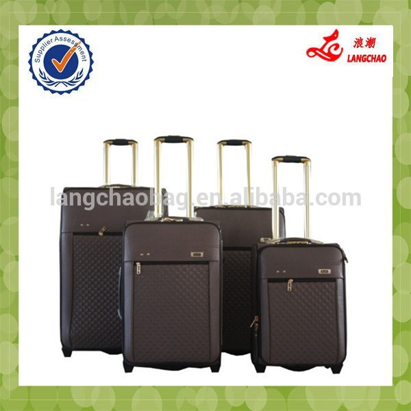 2015 chinese factory luggage wholesale