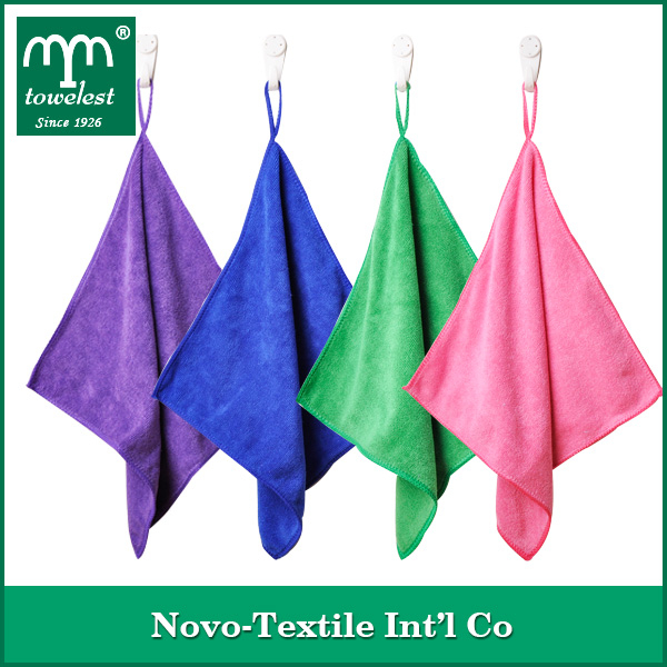 Promotion microfiber nano fiber cloth, bar towel, dishcloth with strong-decontamination and non-scratched