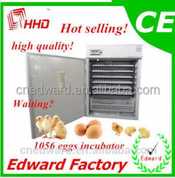 2016 best price HHD Industrial poultry brooder of 1000 eggs With CE Approved, 3 Years Warranty for sale