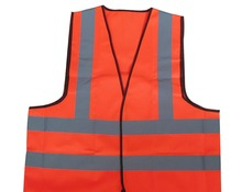 Nighttime High Visibility Reflective Safety Vests Motorcycles