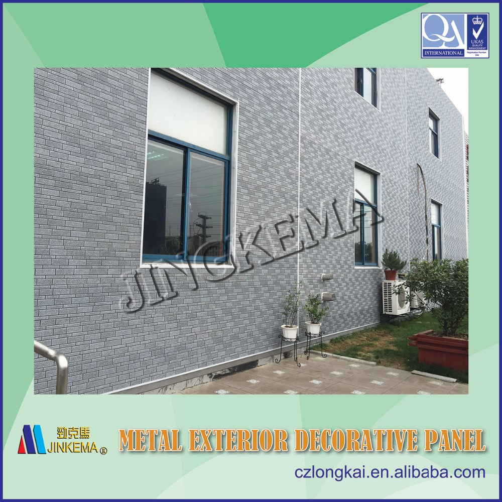 Decorative exterior wall panel PU foam wall panel