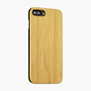 Bamboo Wood Back phone Case For iPhone 7 x 8plus covers, your own design and logo can be customized