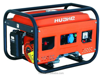 Huahe gasoline generator 163cc single cylinder 4 stroke with 168 engine