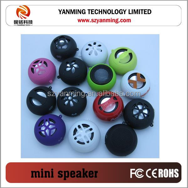 2.0 Active Hamburger shaped Portable USB Mini Computer Speaker