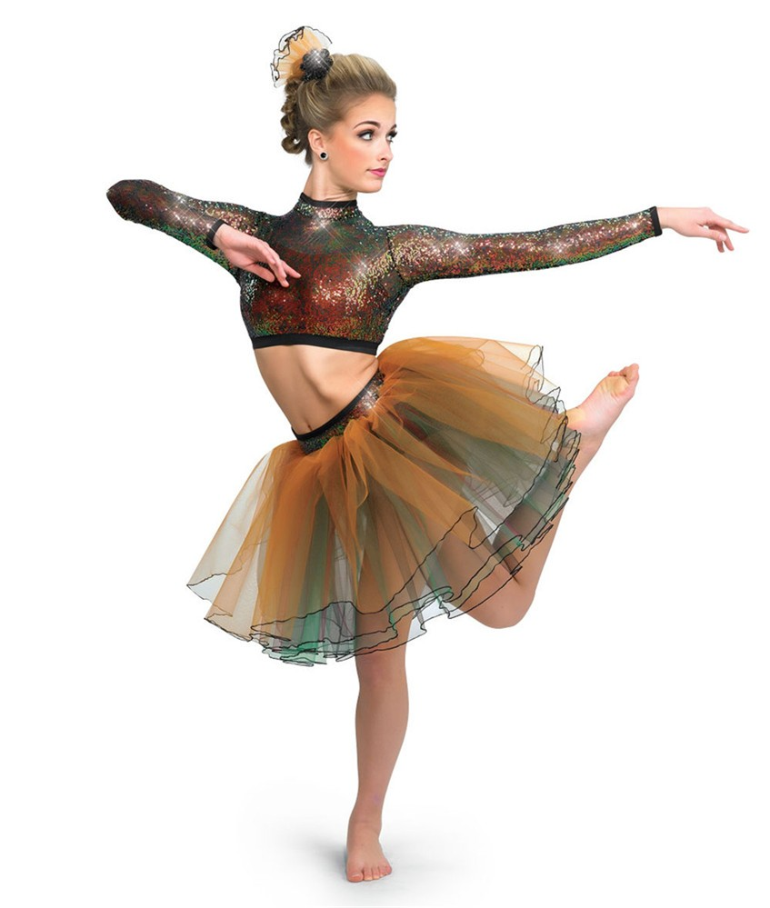 2017 the new adult girls Latin/jazz dance costumes/dance without dress AJ-2017-062