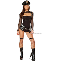Halloween Costume Women Sexy police Girl uniform
