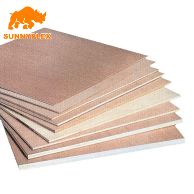 melamine glue 15mm waterproof film faced plywood for construction