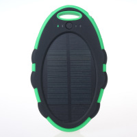 Auxiliary battery charger cheap smartphone power bank 5000mah solar charger