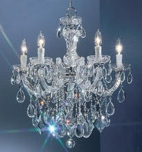 high quality 5lights small maria theresa chandelier for wholesale
