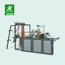 1000mm LDPE HDPE LLDPE Plastic Film Heating Sealing and Cold Cutting Flat bag making machine automatic punch