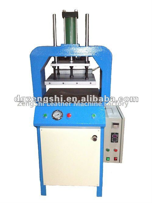 Full function hydraulic die cutting machine leather goods