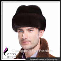 CX-C-134A Fashion Russian Mink Fur Hats