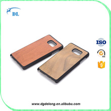 Hot Sale Rose Wood Cases for Samsung Galaxy Note 5 Bamboo Cell Phone Cover