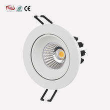 2018 NEW model 83mm cut out anti glare design adjustable 5w 7w cob spotlights for Norway market