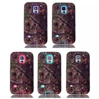 Forest Pattern PC+Silicon Cheap Wholesale Mobile Phone Case for Samsung Galaxy S5 i9600, Retailers General Merchandise S5 Case