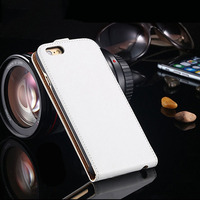 2016 Fashion Design Phone 6/6s Case PU leather flip For Phone Case with frame