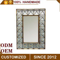 Large Antique Square Handmade Decorative Wall Mirror
