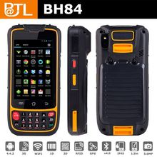 BATL BH84 FN0505 MTK6572 4inch phones waterproof handheld barcode, handheld portable barcode reader