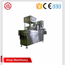 Rice pudding cup filling and sealing machine